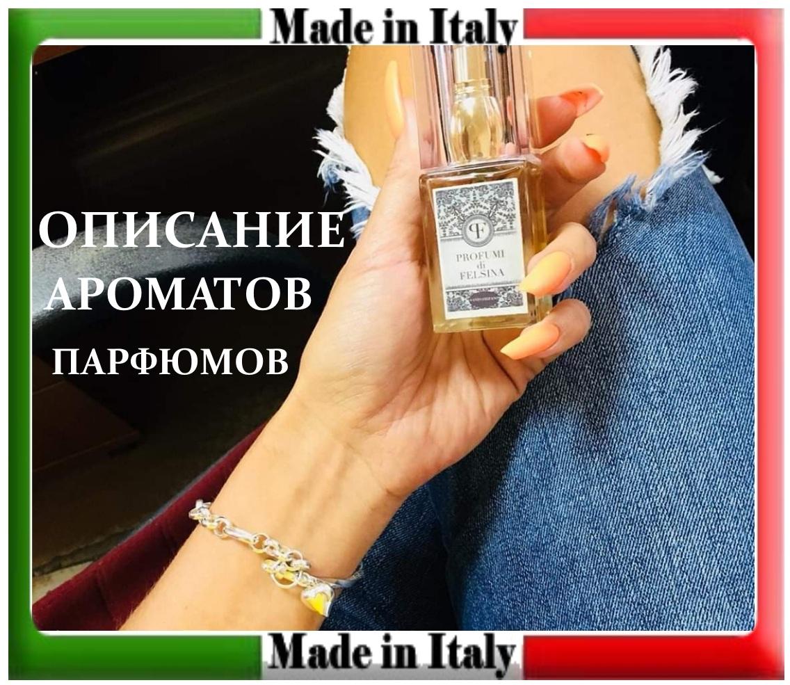 описание аромата парфюма