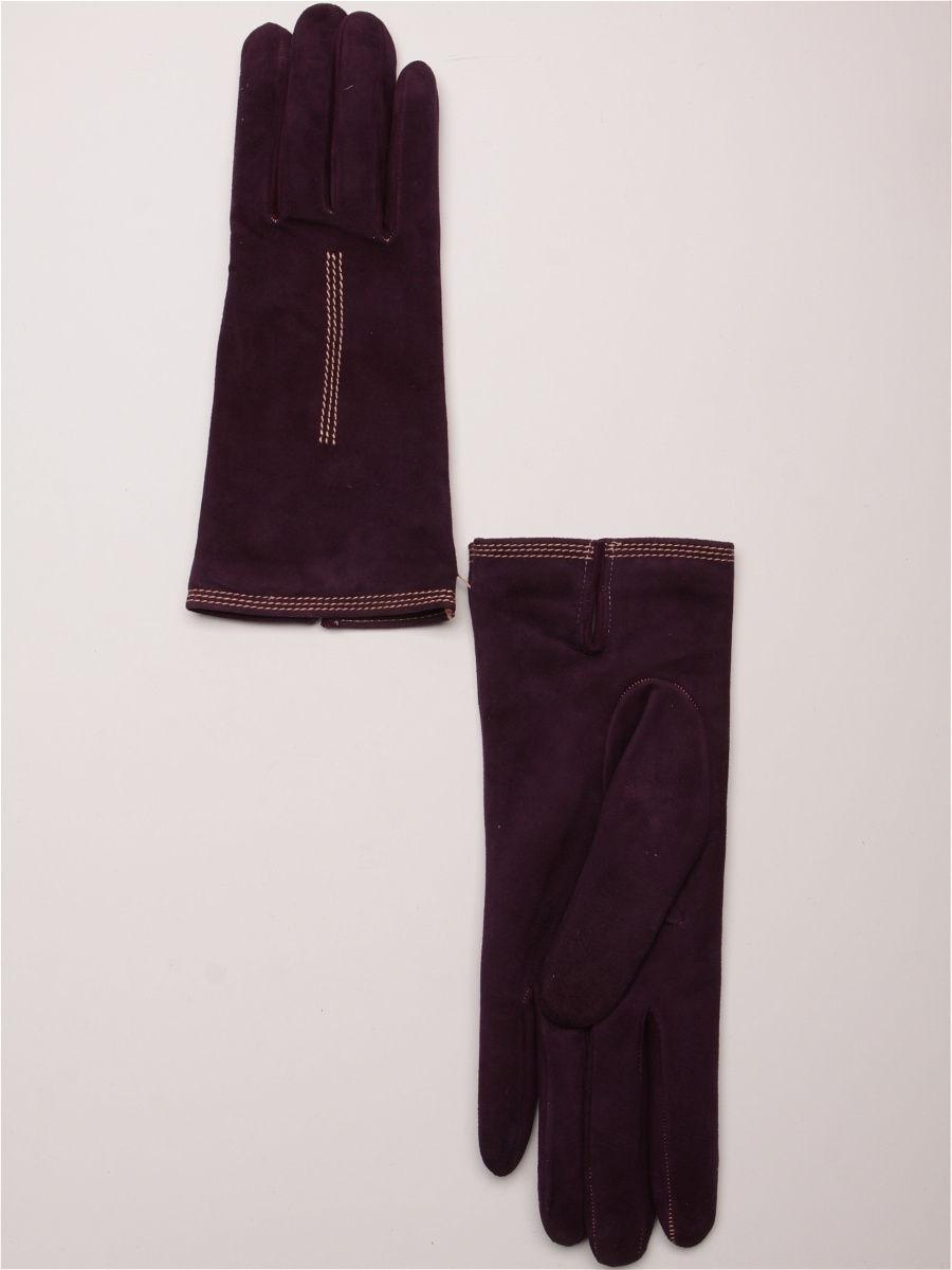 женские перчатки фиолетовые