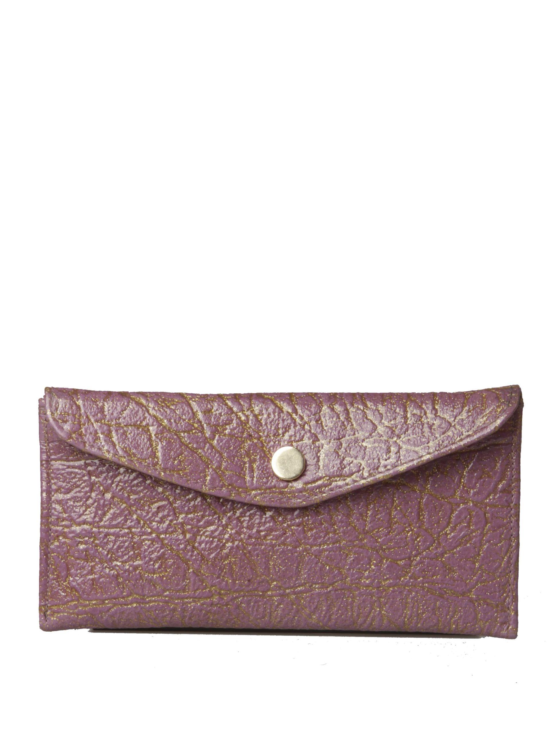 женский клатч фиолетовый