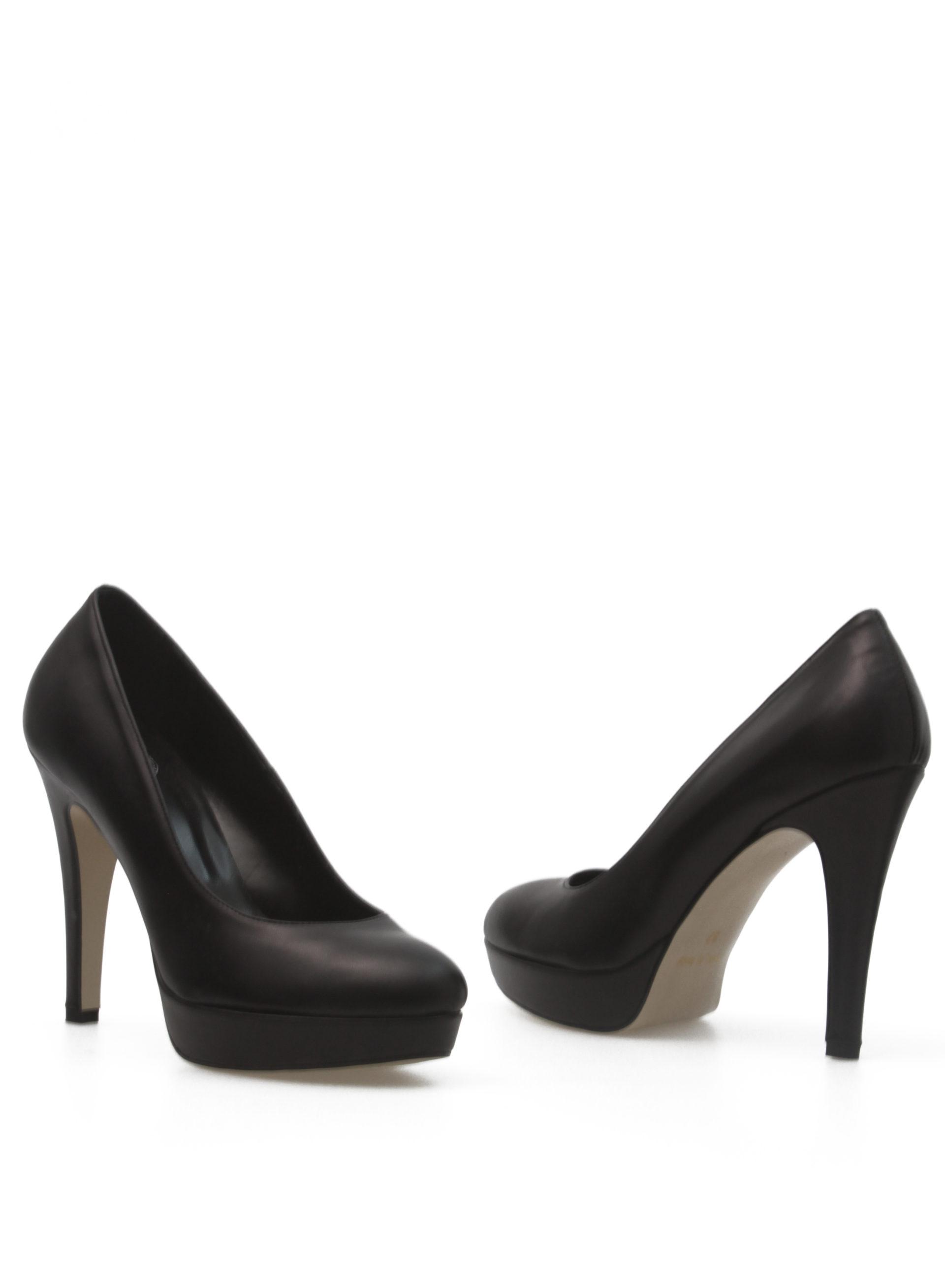 Туфли женские черные италия