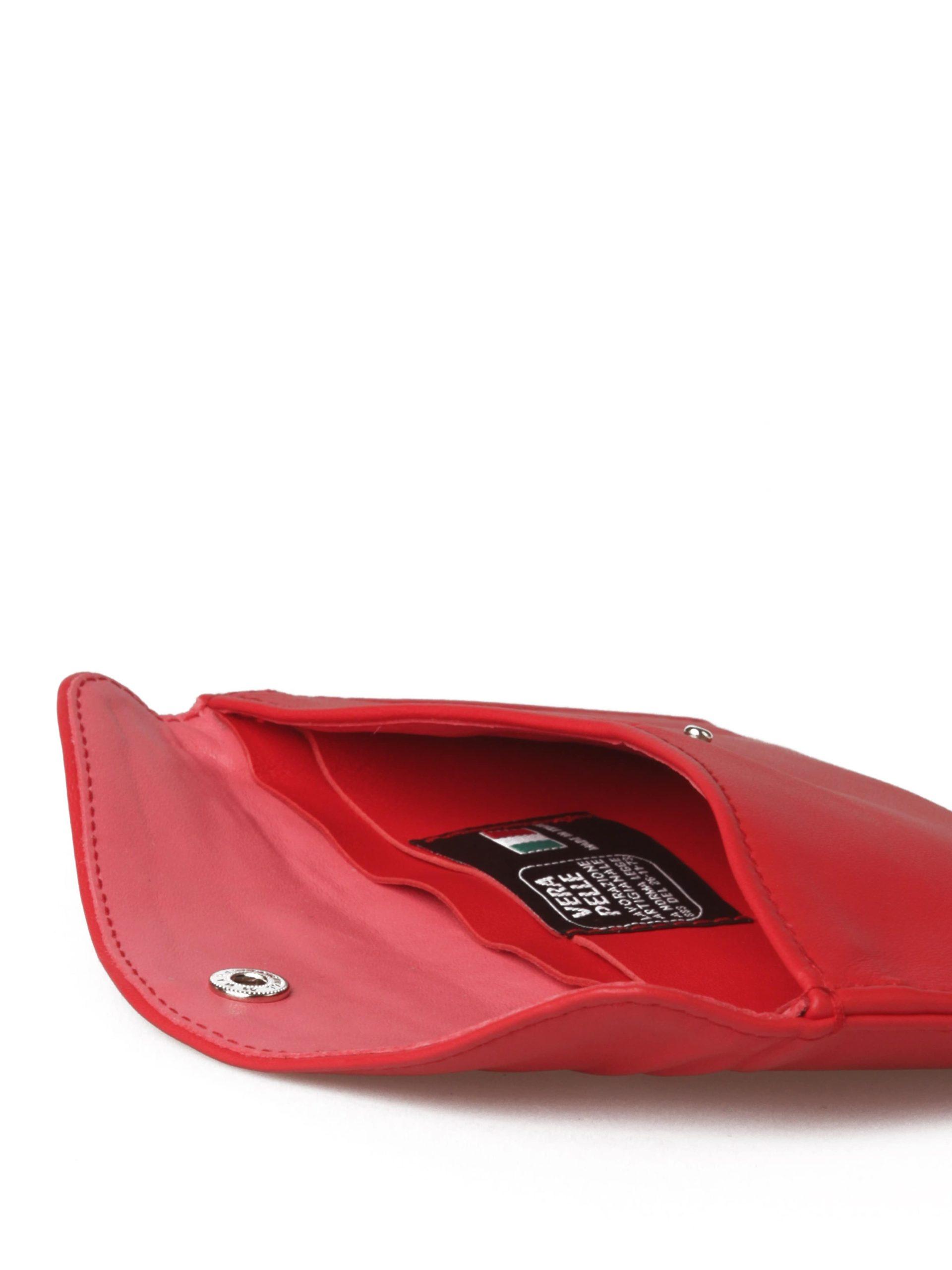 женский клатч красный