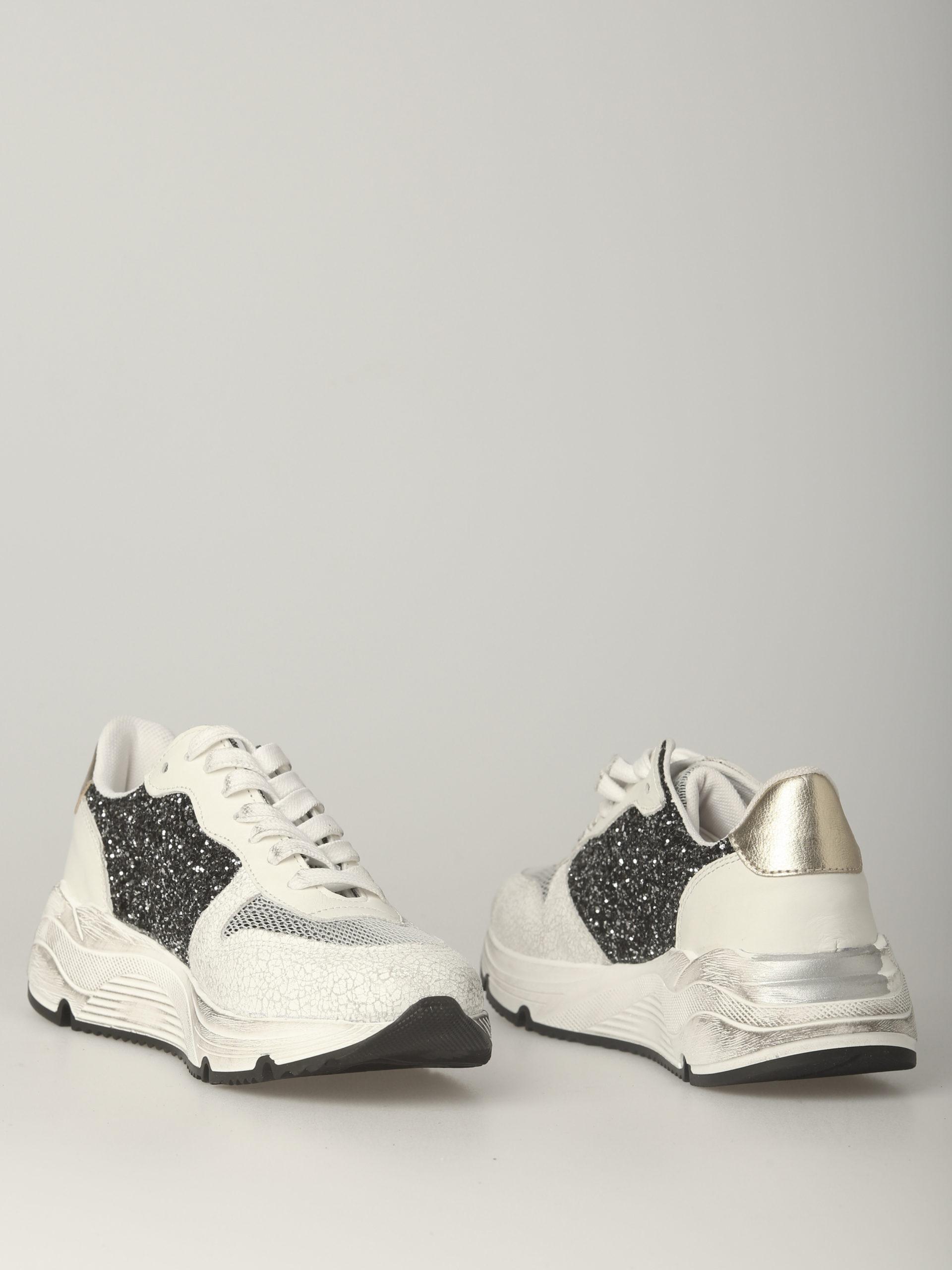21 run--bianco. glitter gold