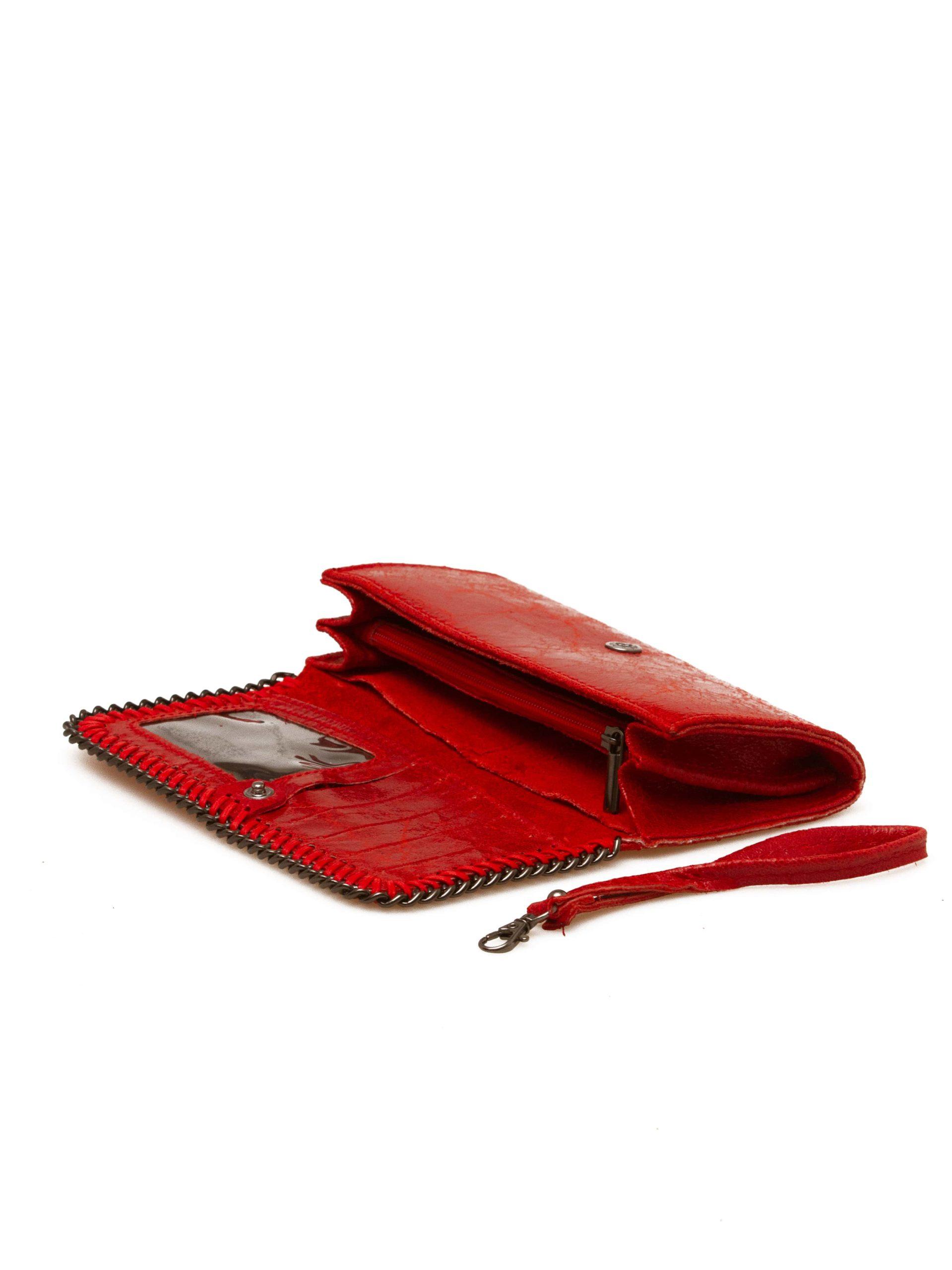 кошелек женский красный