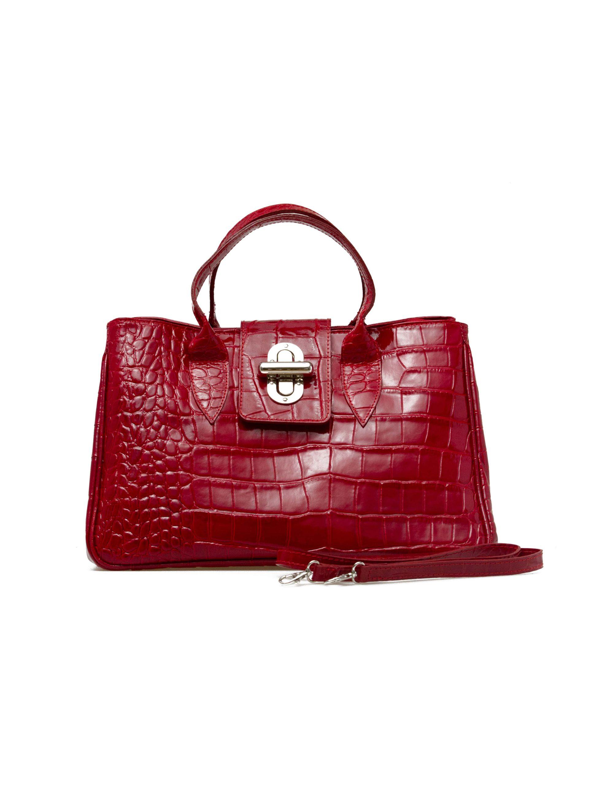 купить итальянскую сумку красную
