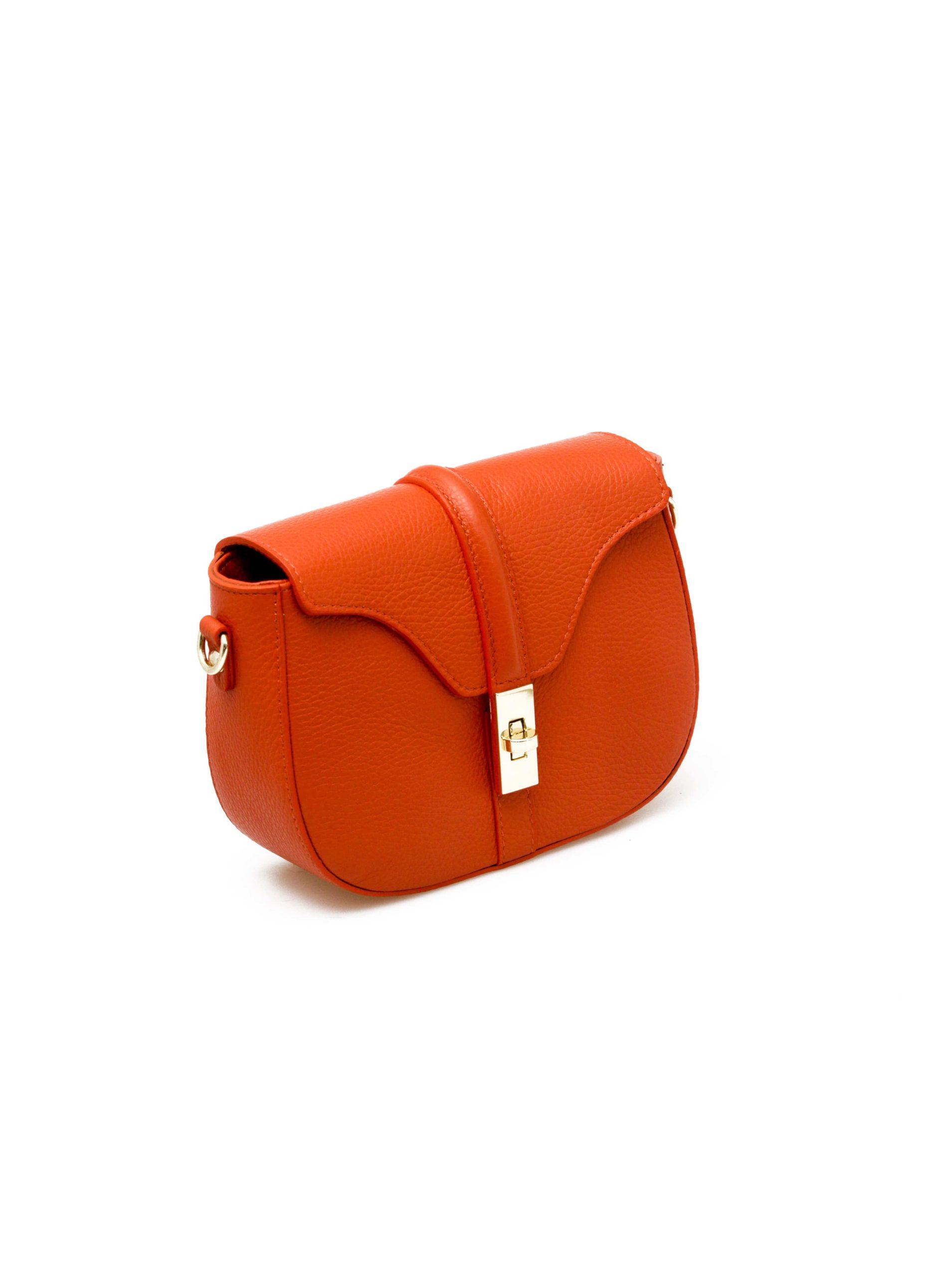 барсетка женская оранжевая