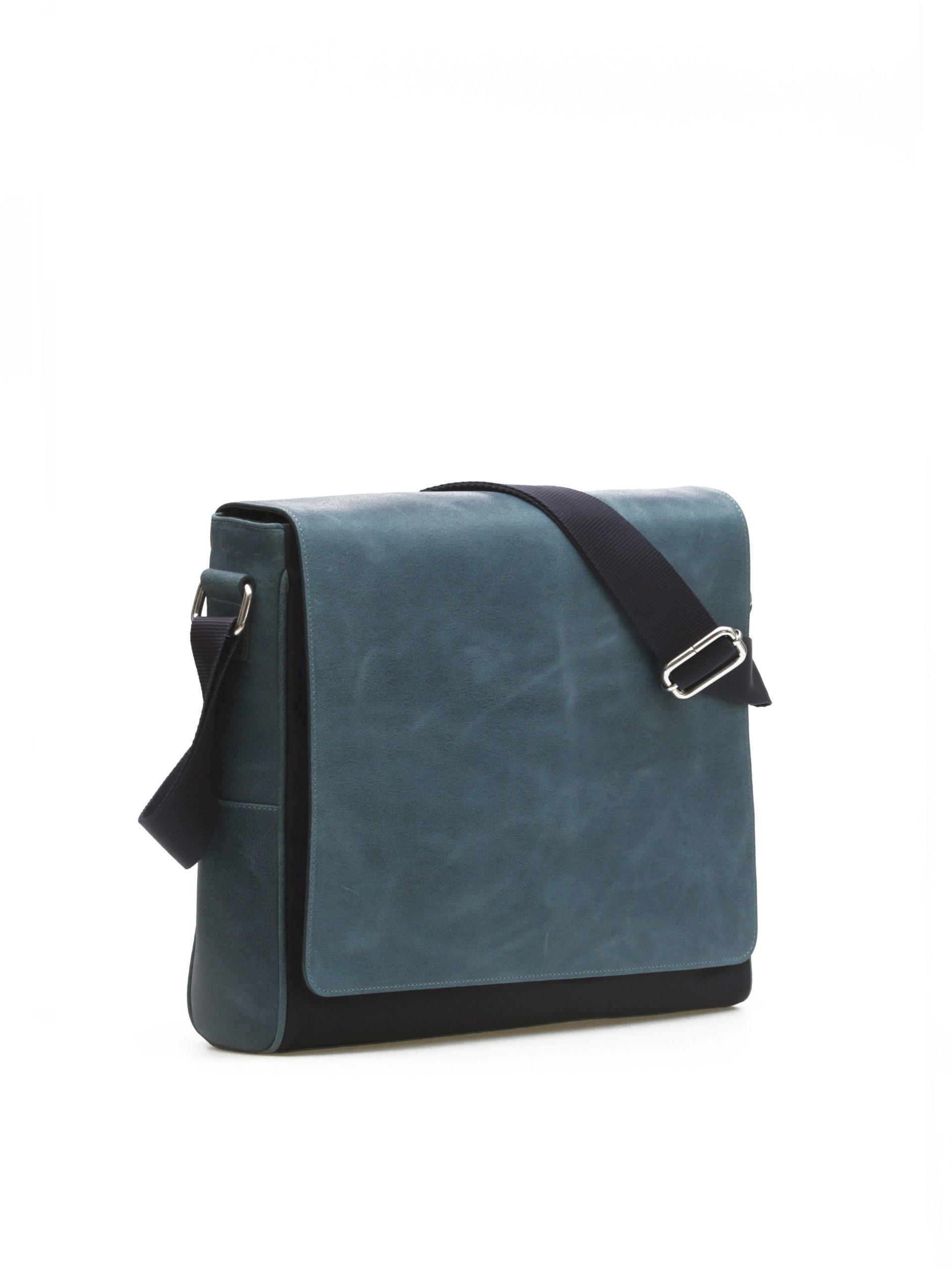 итальянская сумка синяя