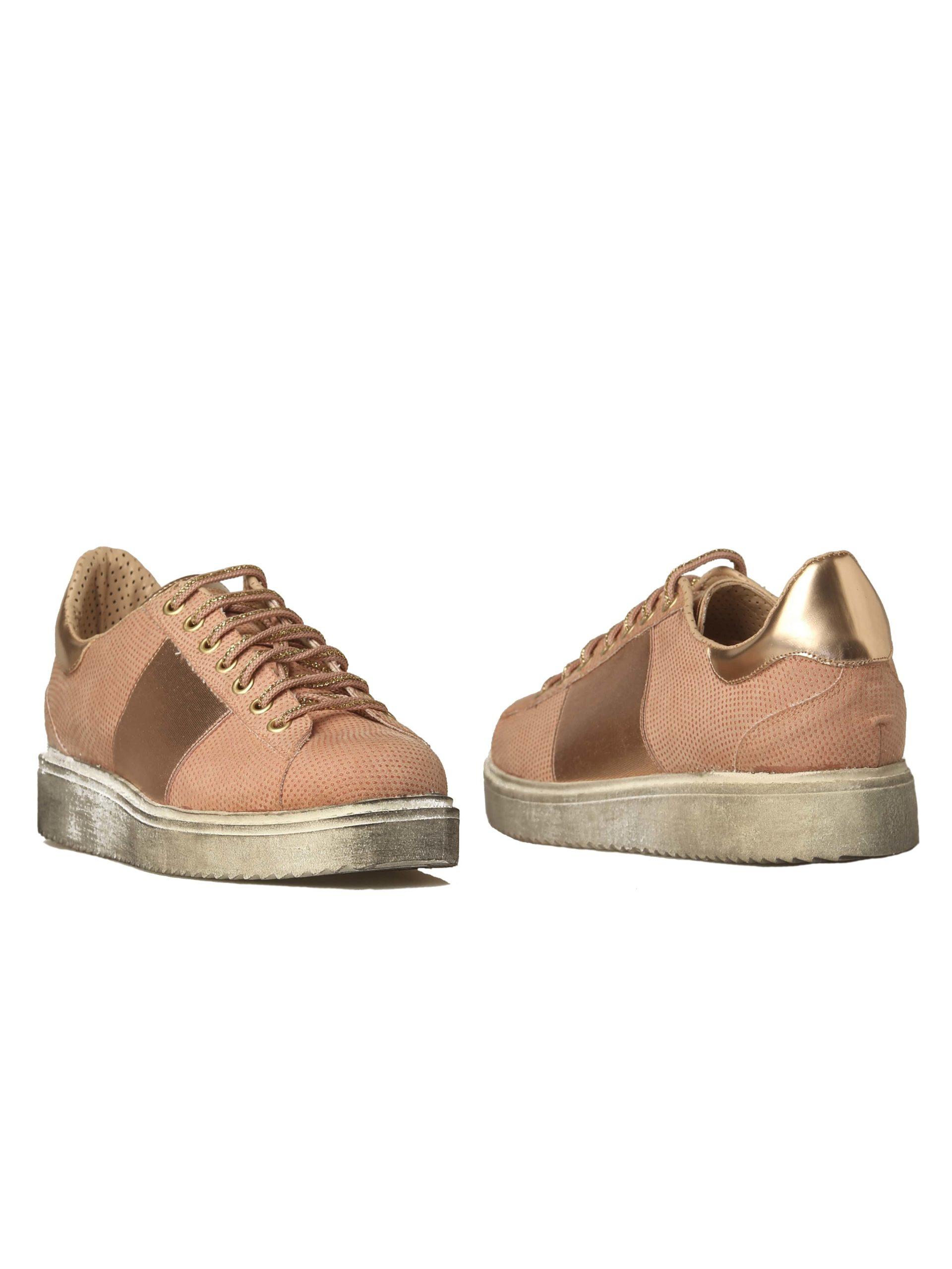 кроссовки сникерсы розовые