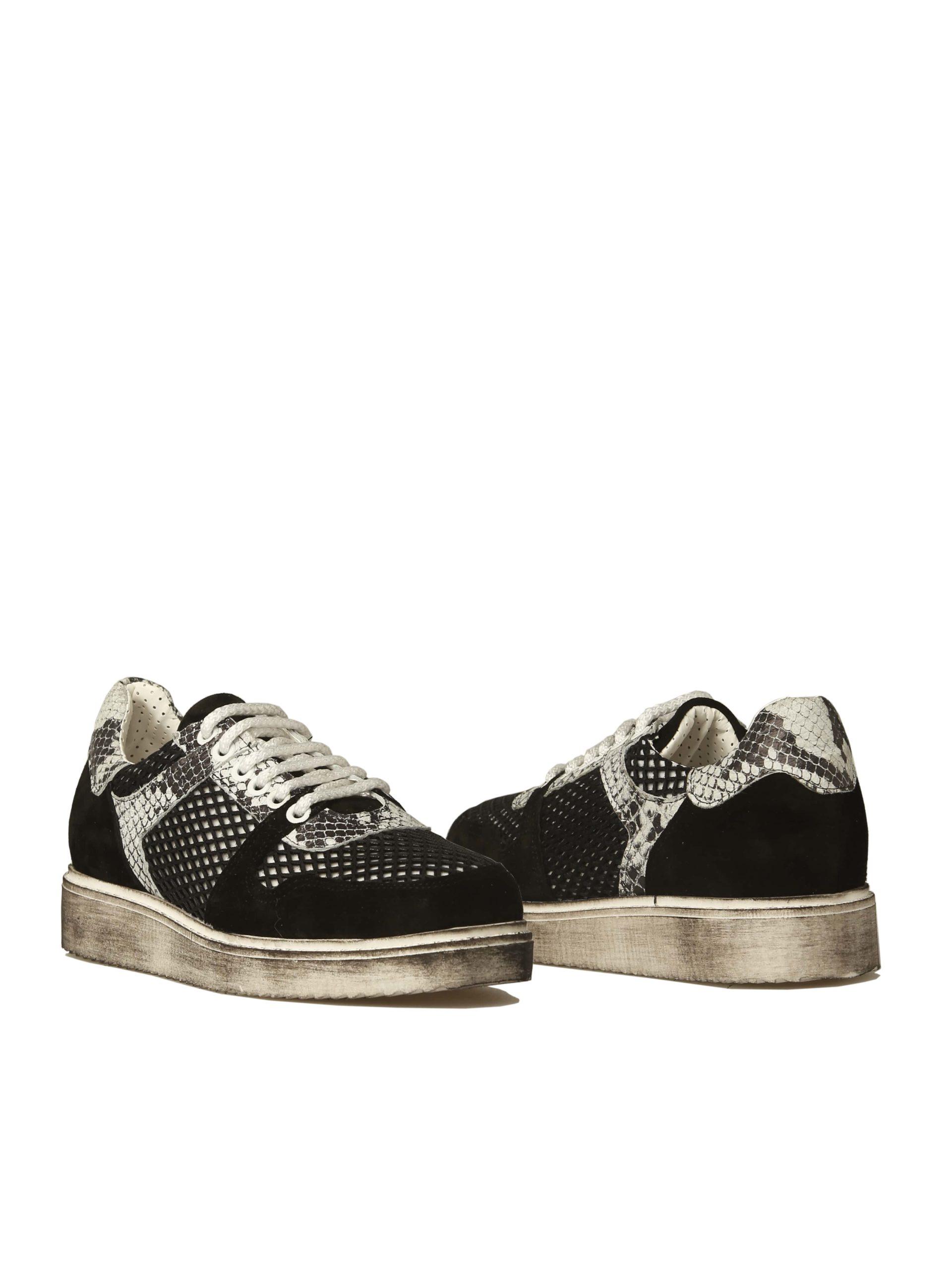 кроссовки сникерсы темные