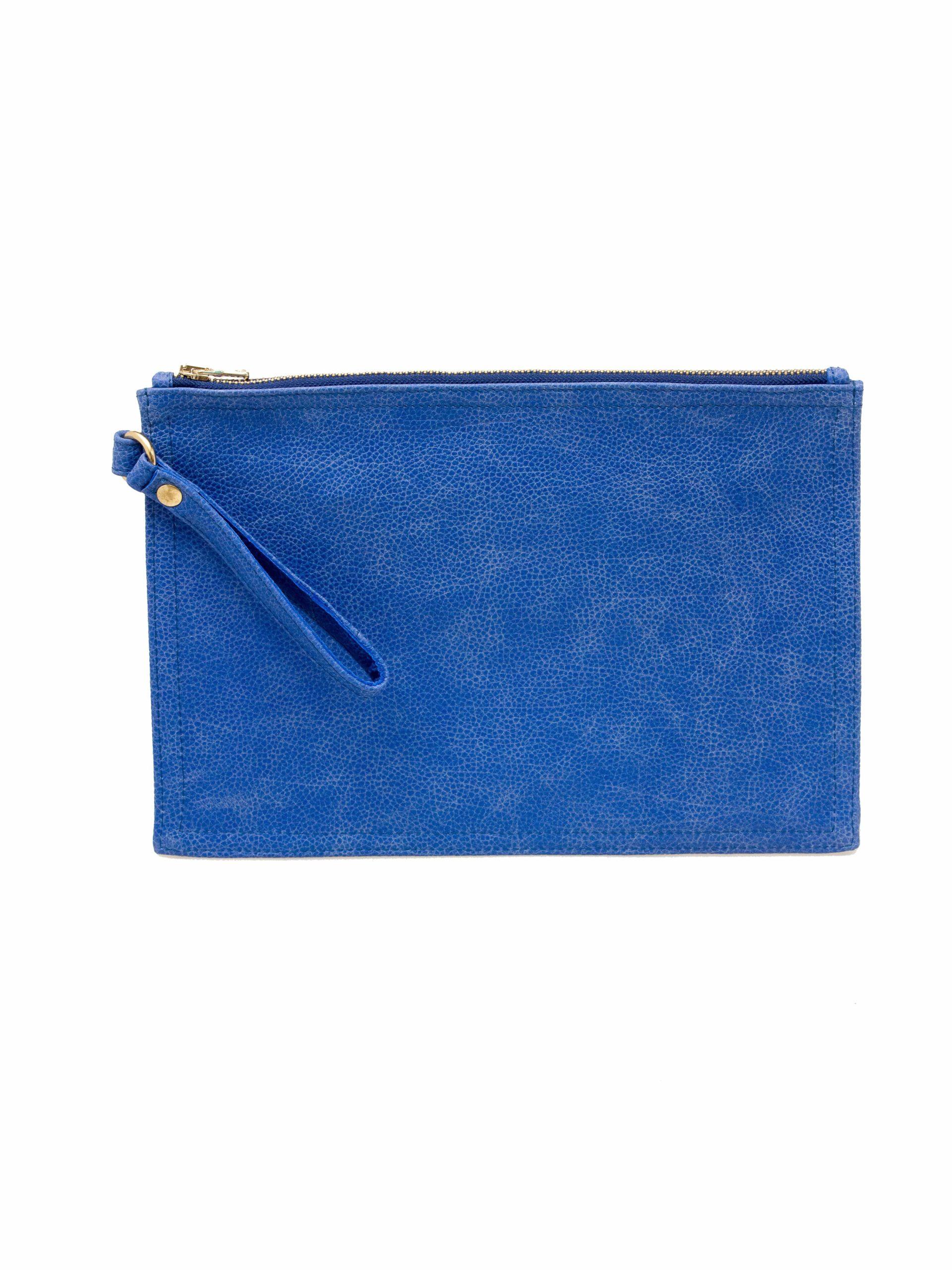 клатч коверт голубой купить