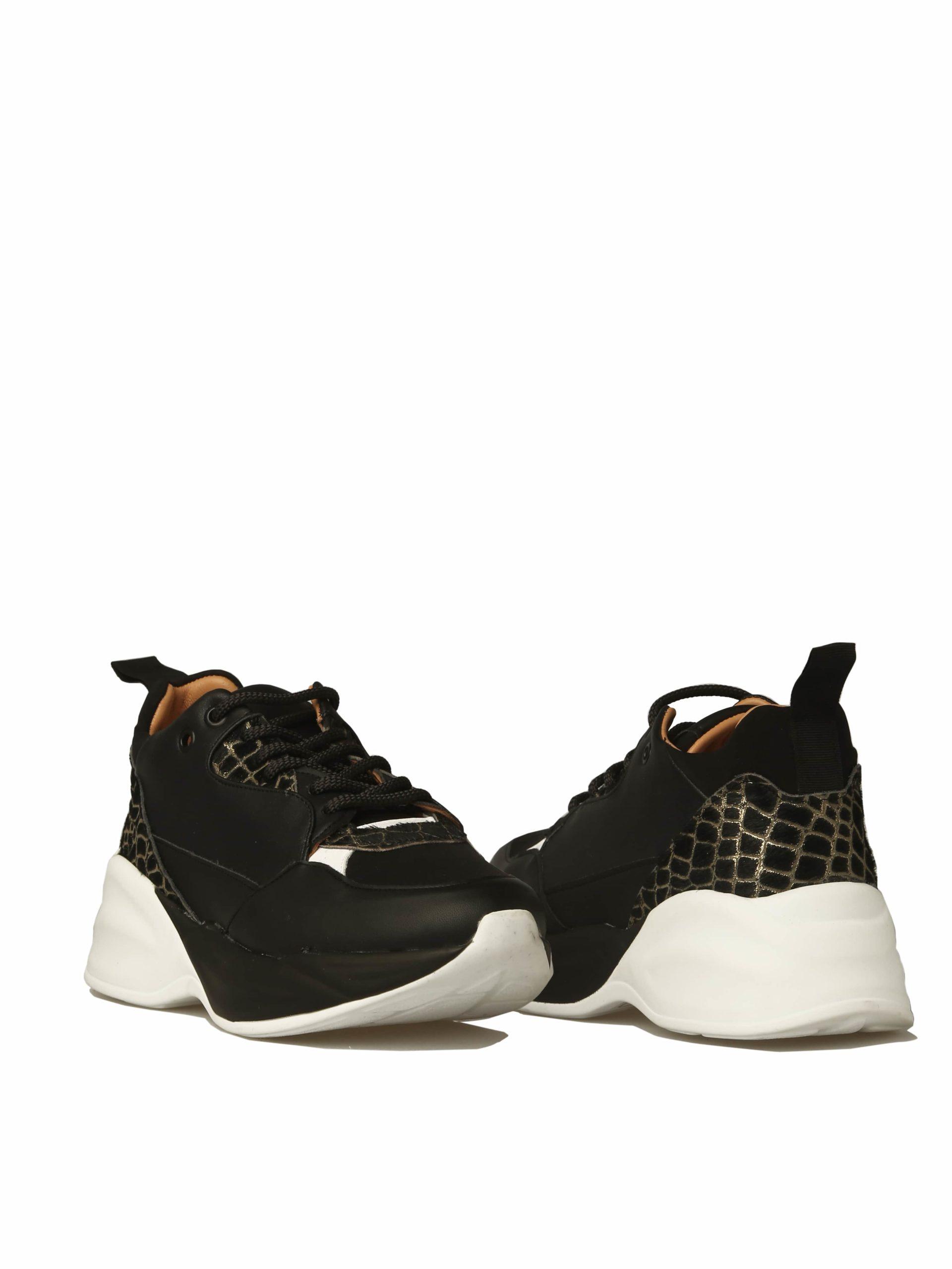 кроссовки сженские черные